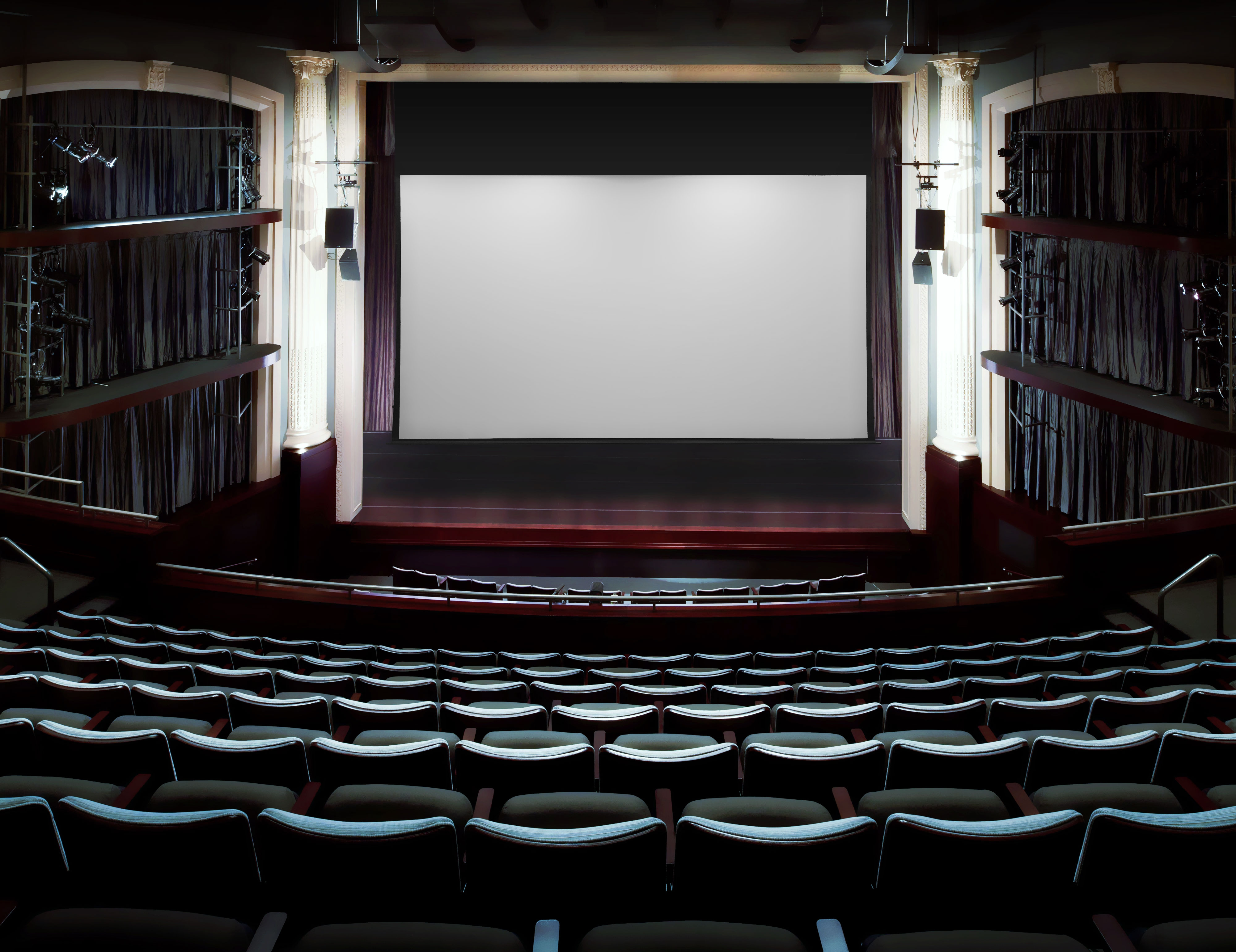 Large Studio Electric Cinema Projection Screens