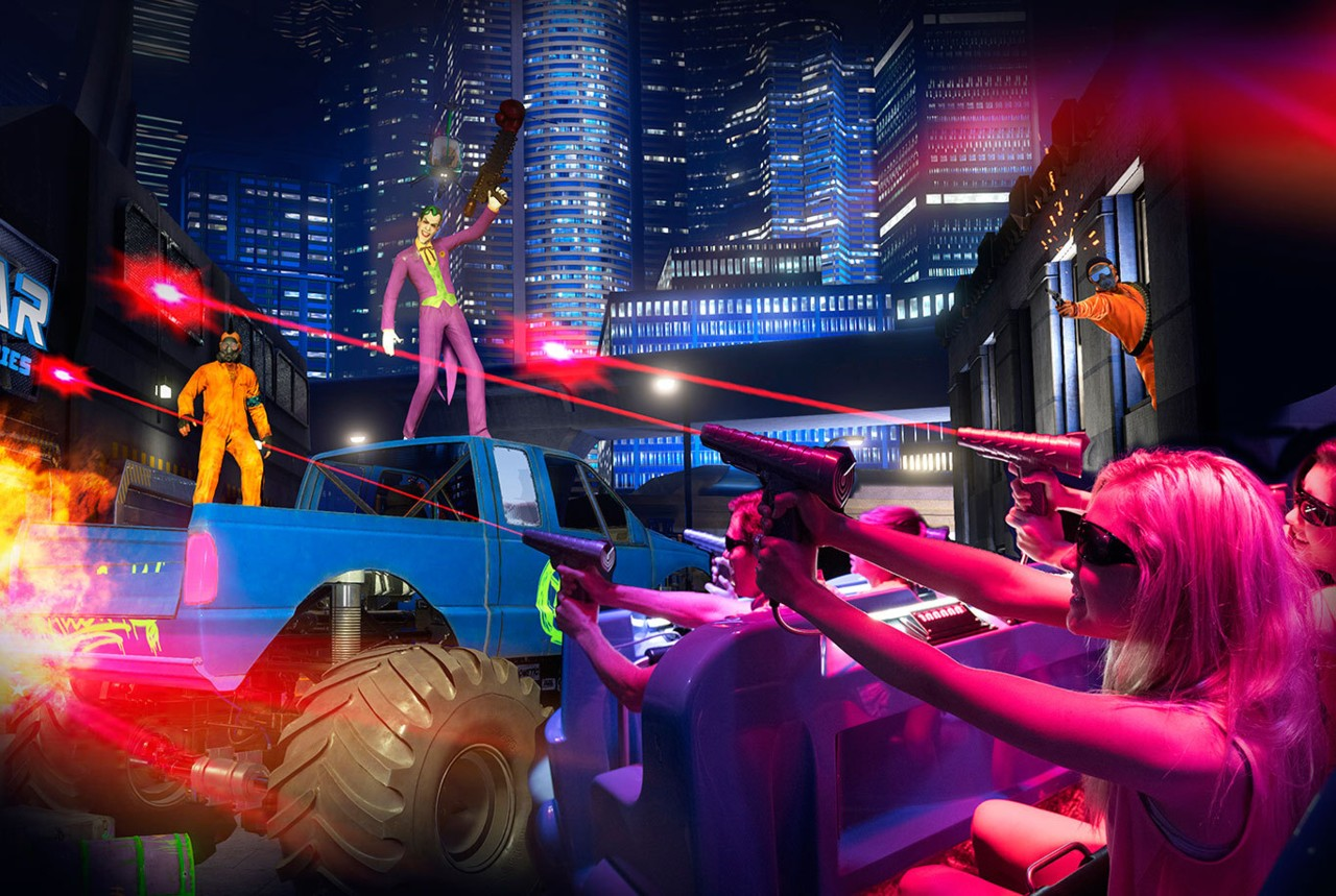 Severtson Participates In Six Flags 4d Interactive Dark Ride
