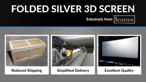 Severtson Screens Folded Cinema Screen