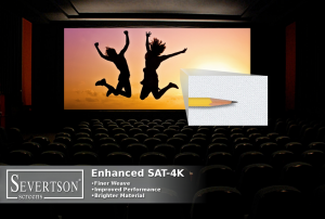 Severtson Screens' SAT-4K for cinema