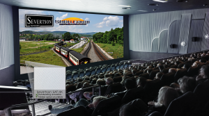 Severtson Screens' SAT-4K for cinema, featured at ShowSouth