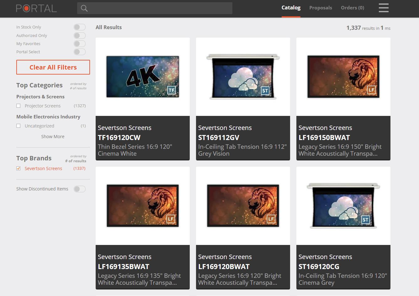 Severtson Screens is now on Portal.io